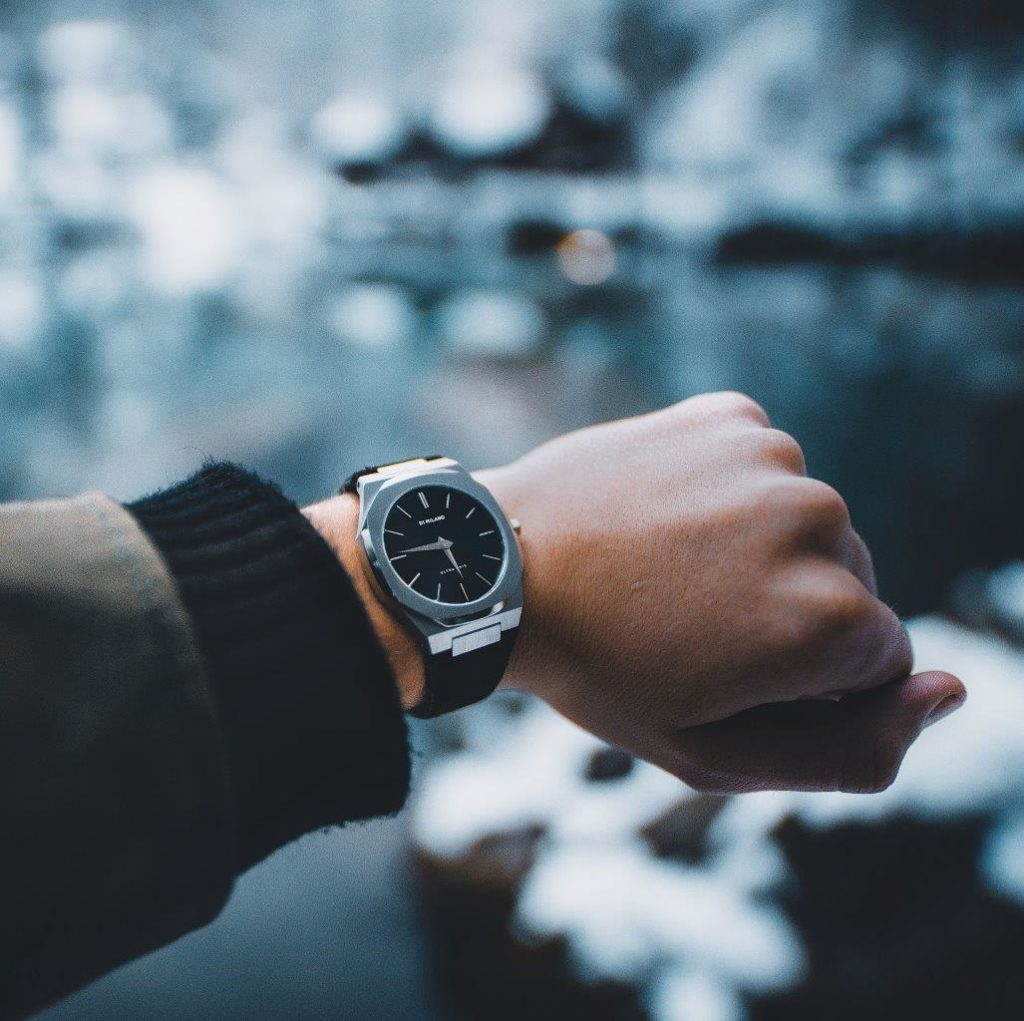4 Fashionable Black Men's Watches from D1 Milano